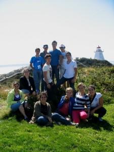 Les élèves du prog. international de 2011-2012 des DS01 et DS11